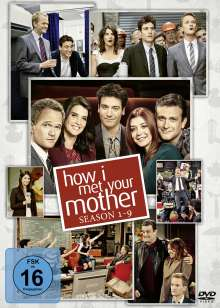 How I Met Your Mother (Komplette Serie), 27 DVDs