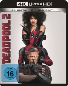 Deadpool 2 (Ultra HD Blu-ray & Blu-ray), 1 Ultra HD Blu-ray und 1 Blu-ray Disc
