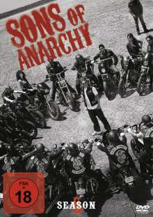 Sons of Anarchy Staffel 5, 4 DVDs