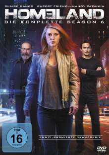 Homeland Staffel 6, 4 DVDs