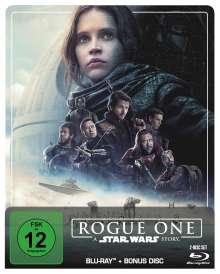 Rogue One: A Star Wars Story (Blu-ray im Steelbook), 2 Blu-ray Discs