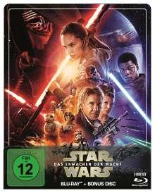Star Wars 7: Das Erwachen der Macht (Blu-ray im Steelbook), 2 Blu-ray Discs
