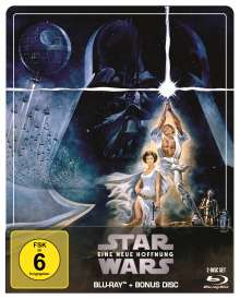 Star Wars Episode 4: Eine neue Hoffnung (Blu-ray im Steelbook), 2 Blu-ray Discs