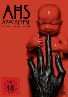 American Horror Story Staffel 8: Apocalypse, 3 DVDs