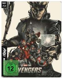 The Avengers (2011) (Ultra HD Blu-ray & Blu-ray im Steelbook), 1 Ultra HD Blu-ray und 1 Blu-ray Disc