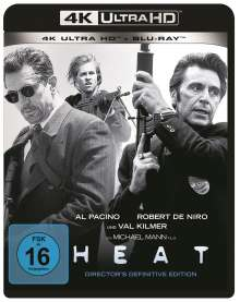 Heat (Ultra HD Blu-ray & Blu-ray), 1 Ultra HD Blu-ray und 1 Blu-ray Disc