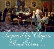 Marcel Worms - Inspired by Chopin, CD