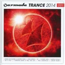 Armada Trance 2014-001, 2 CDs