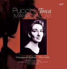 Giacomo Puccini (1858-1924): Tosca (180g), 2 LPs
