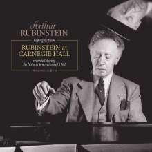 Arthur Rubinstein at Carnegie Hall (180g), LP