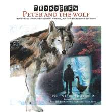 Serge Prokofieff (1891-1953): Peter und der Wolf op.67 (180g), LP