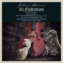 """Johann Strauss II (1825-1899): Orchesterwerke """"Die Fledermaus"""", LP"""