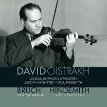 Paul Hindemith (1895-1963): Violinkonzert (1939) (180g), LP