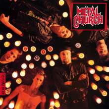 Metal Church: Human Factor (180g) (Limited Numbered Edition) (Translucent Red Vinyl), LP