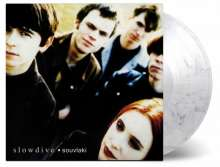 Slowdive: Souvlaki (180g) (Limited Numbered Edition) (Transparent & Black Swirled Vinyl), LP
