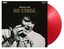 Elvis Presley (1935-1977): On Stage (180g) (Limited Numbered Edition) (Transparent Red Vinyl), LP