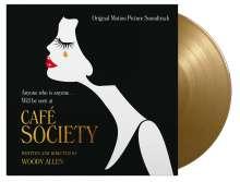 Filmmusik: Café Society (180g) (Limited Numbered Edition) (Solid Gold Vinyl), LP