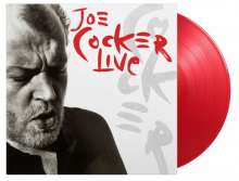 Joe Cocker: Live (180g) (Limited Numbered Edition) (Transparent Red Vinyl), 2 LPs