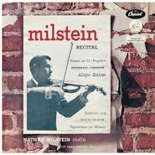 Nathan Milstein - A Nathan Milstein Recital (180g / 33rpm), LP