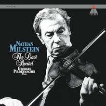 Nathan Milstein - The Last Recital (180g), 2 LPs
