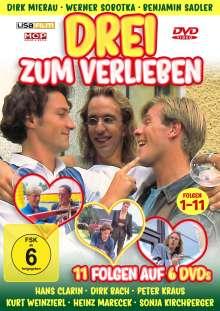 Drei zum Verlieben (Komplette Serie), 2 DVDs