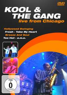 Kool & The Gang: Live From Chicago, DVD