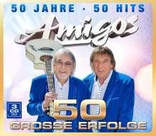 Die Amigos: 50 Jahre - 50 Hits, 3 CDs