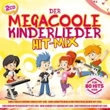 Der megacoole Kinderlieder Hit-Mix, 2 CDs