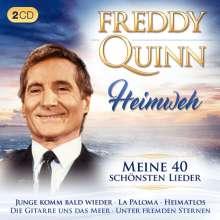 Freddy Quinn: Heimweh: Meine 40 schönsten Lieder, 2 CDs