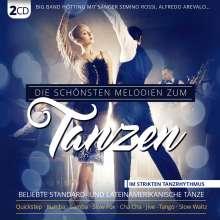 Die schönsten Melodien zum Tanzen, 2 CDs