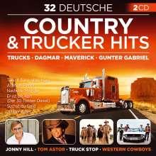 32 Deutsche Country & Trucker Hits, 2 CDs