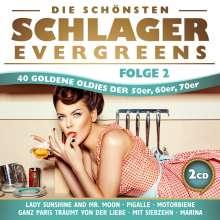 Die schönsten Schlager Evergreens Folge 2, 2 CDs