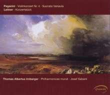 Niccolo Paganini (1782-1840): Violinkonzert Nr.4, CD
