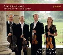Karl Goldmark (1830-1915): Streichquartett op.8, CD