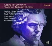 Ludwig van Beethoven (1770-1827): Violinkonzert op.61, 2 Super Audio CDs