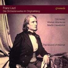 Franz Liszt (1811-1886): Franz Liszt - The Sound of Weimar (Das Gesamtwerk für Orchester), 9 CDs