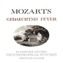 Carl Cannabich (1771-1806): Mozarts Gedaechtnis Feyer, Super Audio CD