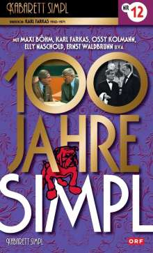100 Jahre Simpl: Teil 12, DVD