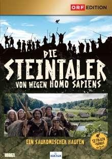 Die Steintaler - Von wegen Homo Sapiens, 2 DVDs