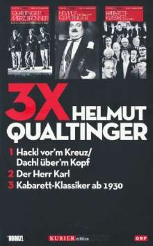 3x Helmut Qualtinger, 3 DVDs