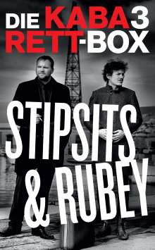 3x Stipsits & Rubey, 3 DVDs