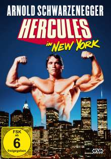 Hercules in New York, DVD