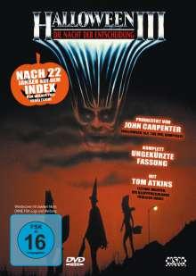 Halloween 3, DVD