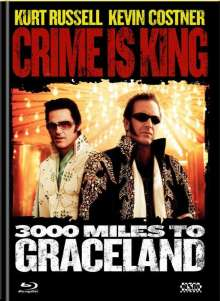 Crime is King - 3000 Miles to Graceland (Blu-ray & DVD im Mediabook), 1 Blu-ray Disc und 1 DVD