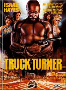 Truck Turner (Chicago Poker) (Blu-ray & DVD im Mediabook), 1 Blu-ray Disc und 1 DVD