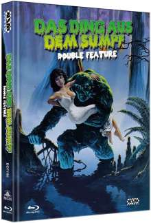 Das Ding aus dem Sumpf (Double Feature) (Blu-ray im Mediabook), 2 Blu-ray Discs