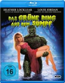 Das grüne Ding aus dem Sumpf (Blu-ray), Blu-ray Disc