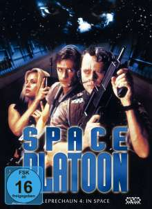 Space Platoon - Leprechaun 4: In Space (Blu-ray & DVD im Mediabook), 1 Blu-ray Disc und 1 DVD