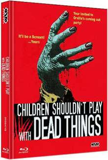 Children shouldn't play with dead things (Blu-ray & DVD im Mediabook), 1 Blu-ray Disc und 1 DVD