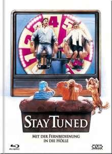 Stay Tuned - Mit der Fernbedienung in die Hölle (Blu-ray & DVD im Mediabook), 1 Blu-ray Disc und 1 DVD